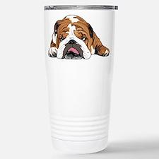 Teddy the English Bulldog Travel Mug