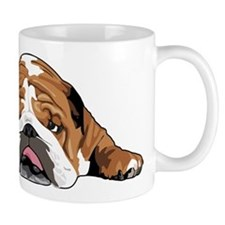Teddy the English Bulldog Small Mug