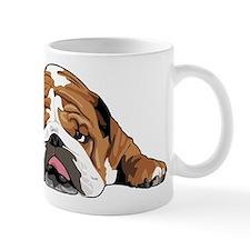 Teddy the English Bulldog Small Mugs