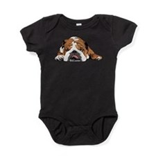 Teddy the English Bulldog Baby Bodysuit