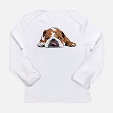 Teddy the English Bulldog Long Sleeve T-Shirt