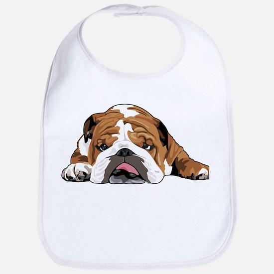 Teddy the English Bulldog Bib