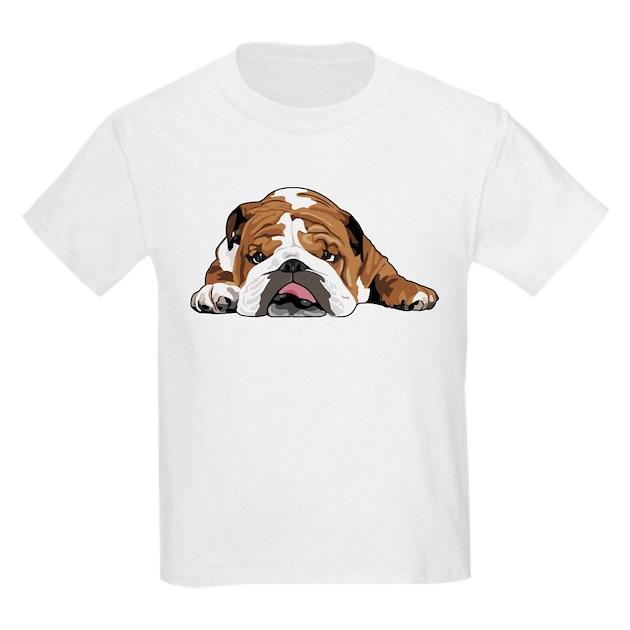 Teddy the english bulldog t shirt by teddytheenglishbulldog T shirts for english bulldogs