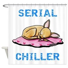 Chihuahua Serial Chiller Shower Curtain