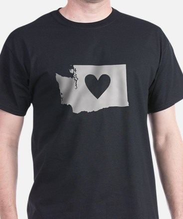 Heart Washington T-Shirt