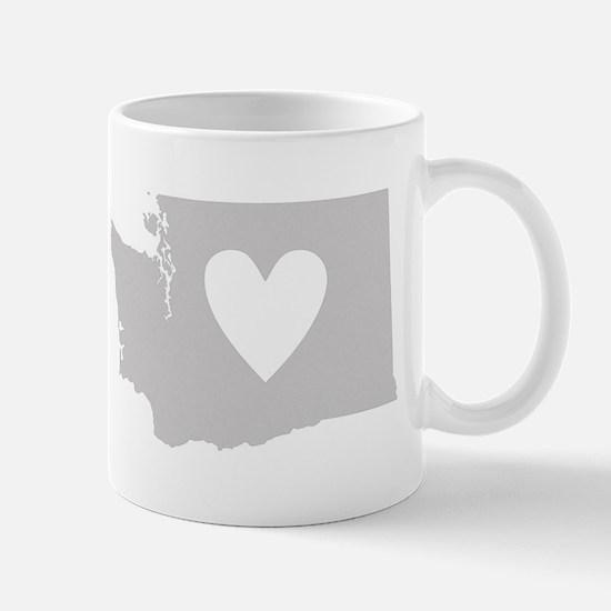 Heart Washington Mug