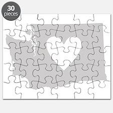 Heart Washington Puzzle