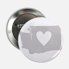"""Heart Washington 2.25"""" Button"""