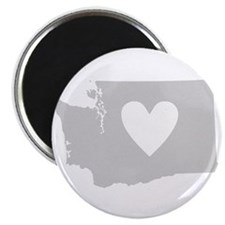 Heart Washington Magnet