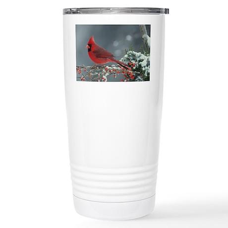 Cardinal Stainless Steel Travel Mug