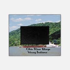 River Barge Picture Frame