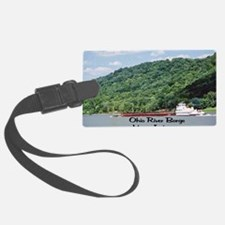River Barge Luggage Tag