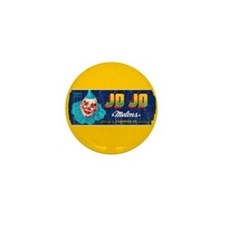 Melons Fruit Crate Label Mini Button (100 pack)