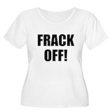 Frack Off Plus Size T-Shirt