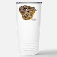 Prairie Rattlesnake Stainless Steel Travel Mug