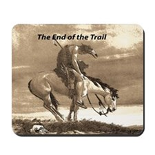 End of Trail Mousepad