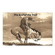 End of Trail Postcards (Package of 8)