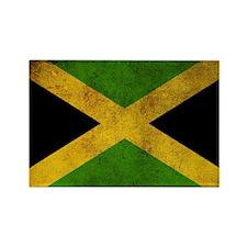 Jamaica Flag Rectangle Magnet