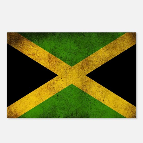 Jamaica Flag Postcards (Package of 8)