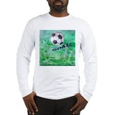 Soccer Goal Long Sleeve T-Shirt