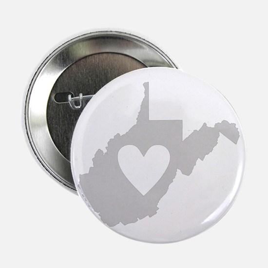 """Heart West Virginia 2.25"""" Button"""