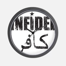 Original Infidel Wall Clock