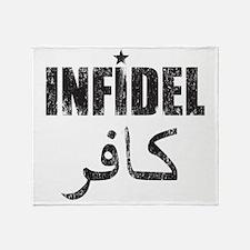 Original Infidel Throw Blanket