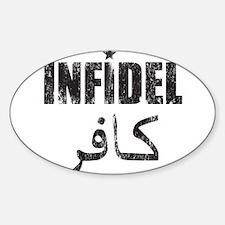 Original Infidel Sticker (Oval)