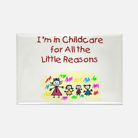 Little Reasons Rectangle Magnet (100 pack)