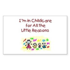 Little Reasons Rectangle Decal