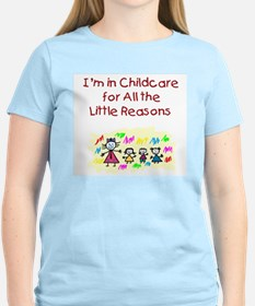 Little Reasons Women's Pink T-Shirt