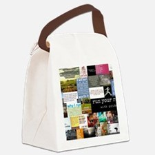 Running College Canvas Lunch Bag