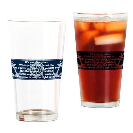 Caddyshack Yacht Club Poem Drinking Glass
