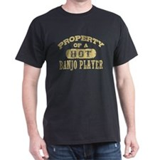 Property of a Hot Banjo Player T-Shirt