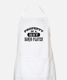 Property of a Hot Banjo Player Apron