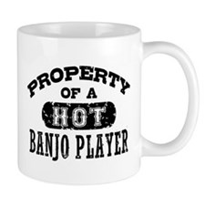 Property of a Hot Banjo Player Mug