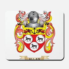 Allan Coat of Arms Mousepad