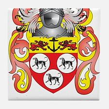 Allan Coat of Arms Tile Coaster