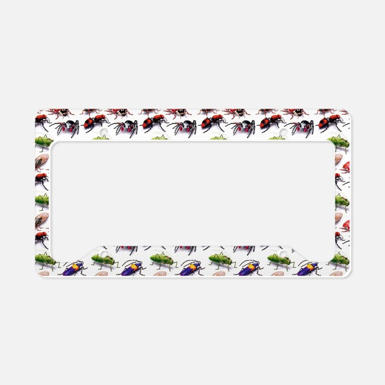 bugs bugs bugs everywhere License Plate Holder