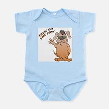 Talk To The Paw Dog Infant Bodysuit