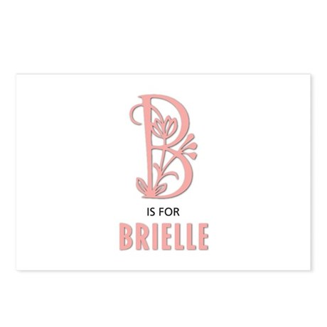 """B"" is for Brielle Postcards (Package of 8)"