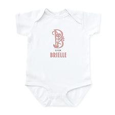 """B"" is for Brielle Infant Bodysuit"