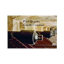 Fort Sumter Rectangle Magnet