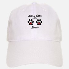 Life Is Better With A Scottie Baseball Baseball Cap