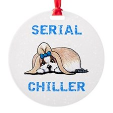 KiniArt Shih Tzu Serial Chiller Ornament