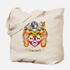 Allen Coat of Arms Tote Bag