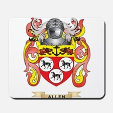 Allen Coat of Arms Mousepad