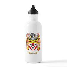 Allen Coat of Arms Water Bottle