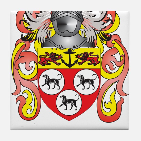 Allen Coat of Arms Tile Coaster