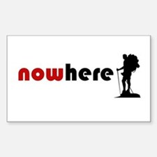 Nowhere (Hiker) Decal
